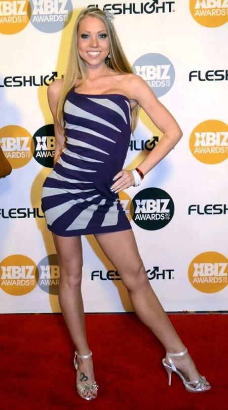 Shawna Lenee at the 2015 XBiz Awards