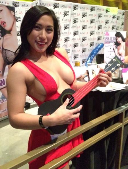 AVN Expo 2015 Photos Day 2: Mia Li
