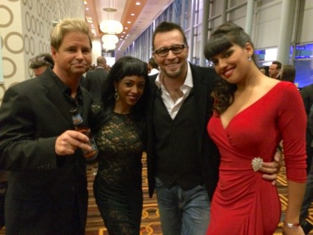 Will Ryder, Anya Ivy, Axel Braun and Mercedes Carrera at the 2015 XBiz Awards in Los Angeles