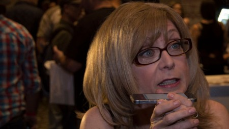 The Internet is Forever -- Nina Hartley is very passionate about sex education.