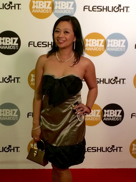 XBiz Awards 2015 PHOTOS: Lucky Starr