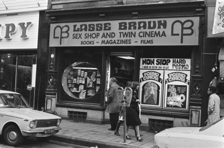 The Lasse Braun sex shop in Amsterdam