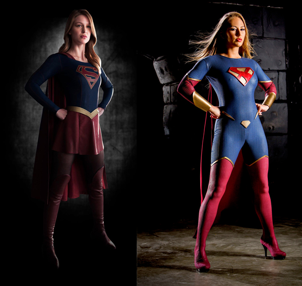 Who Has The Best Supergirl: CBS Television or Axel Braun / Wicked Pictures?