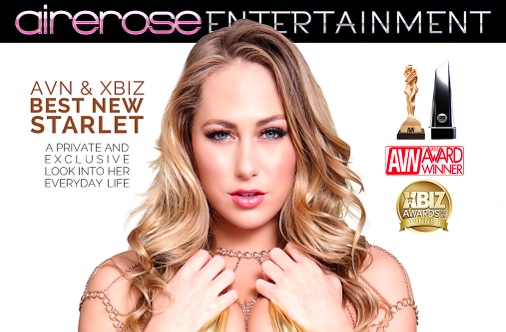 Airerose Entertainment's 'All Access Carter Cruise' Selected XBIZ Editor's Choice