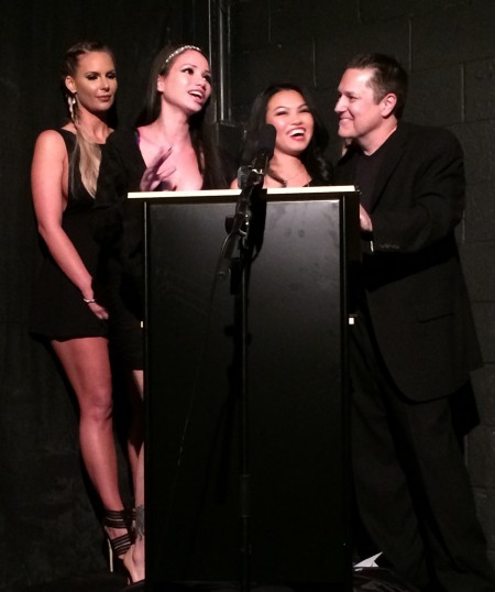 Phoenix Marie, Raven Bay, Cindy Starfall and Glenn King at the 2015 Femdom Awards