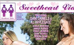 Mile High Media's 'Lesbian Analingus 6' Stars Dani Daniels & AJ Applegate