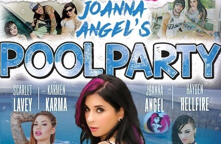 Joanna Angel to Release Joanna Angel's Pool Party Exclusively on BurningAngel.com