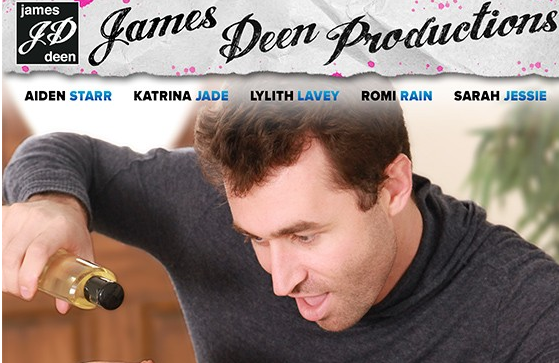 Busty Starlets & Homemade Sex Tapes Highlight Hot, New Releases from James Deen Productions