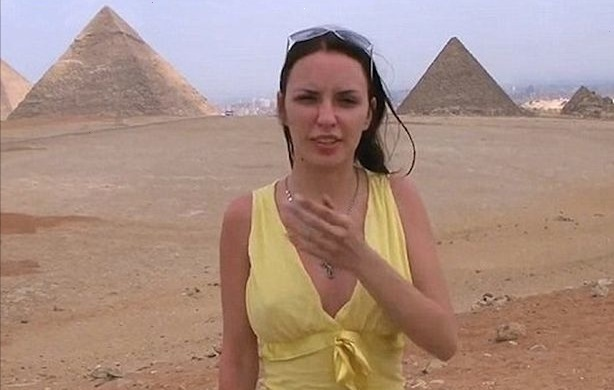 Porn at the pyramids: Fuming Egyptian officials investigate adult film 'made on tourist trip'