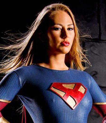 Carter Cruise as she appears in Axel Braun's upcoming superhero parody for Wicked Comix