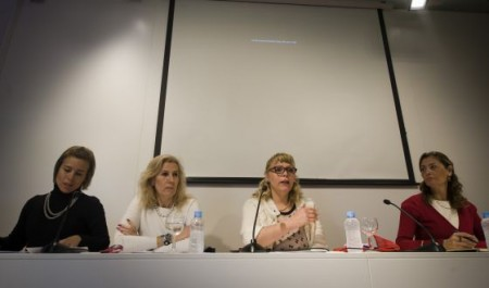 The presentation of the first lobby in Spain for sex workers. / JUAN BARBOSA