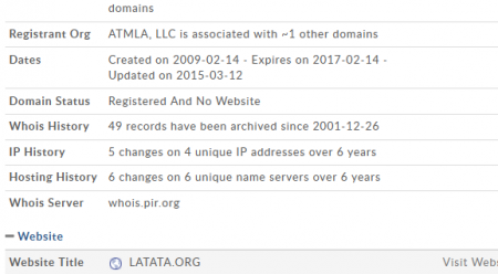 "LOL --> ""The FSC Was Behind The Breakup of LATATA"" Random Blogger"