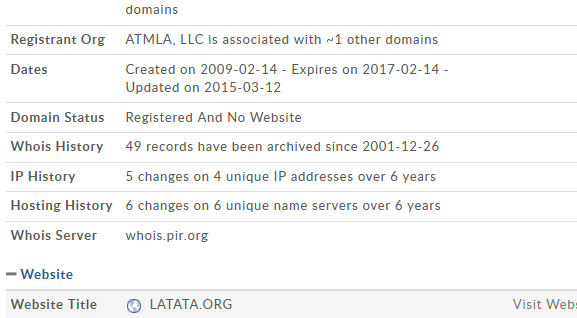 "LOL –> ""The FSC Was Behind The Breakup of LATATA"" Says Random Blogger"