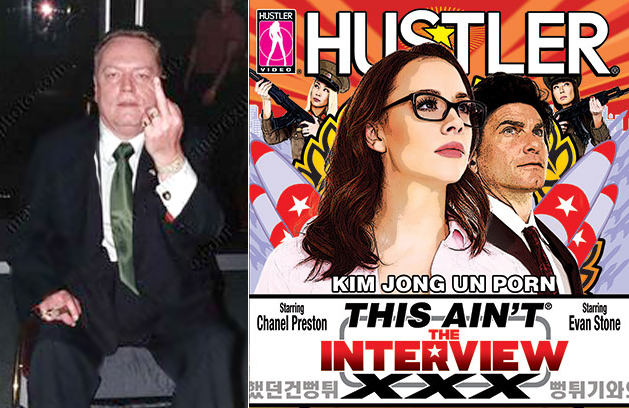 'Shove It Right Up Kim Jong-un's Ass' says Larry Flynt: 'This Ain't the Interview XXX' Is A Hustler Hit