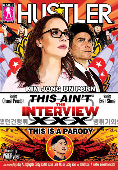 'Shove It Right Up Kim Jong-un's Ass' says Larry Flynt: 'This Ain't the Interview XXX' Is A Hustler Video Hit
