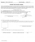 2 Advisory and Solvency Hearing