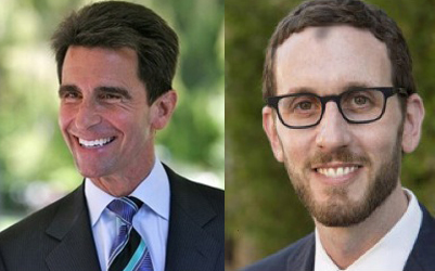 State Sen. Mark Leno and SF Supervisor Scott Wiener