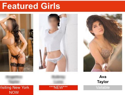 Fraud at The Heart of 'Hot Girls Wanted' - Ava Taylor escort ad, May 29, 2015