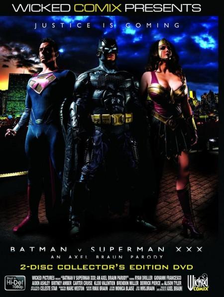 Wicked Comix Releases Batman v Superman XXX: An Axel Braun Parody SFW Trailer