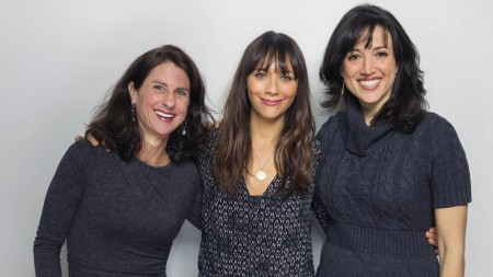 Jill Bauer, Rashida Jones, Ronna Gradus - AP