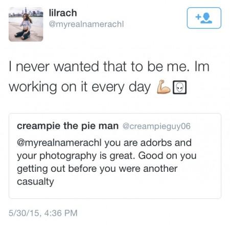 Rachel tweet 1