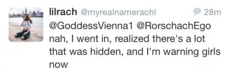 Rachel tweet 2