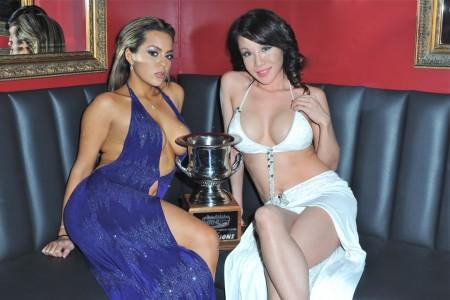 Rivk's Cabaret NYC--trophy
