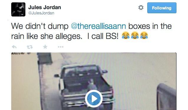Jules Jordan Posts Security Camera Video To Rebut Latest Lisa Ann Claims