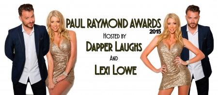 Dapper Laughs & Lexi Lowe to Co-Host 2015 Paul Raymond Awards