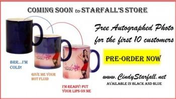 CINDY STARFALL Is Ready To Wake You Up With A Revealing Magic Mug