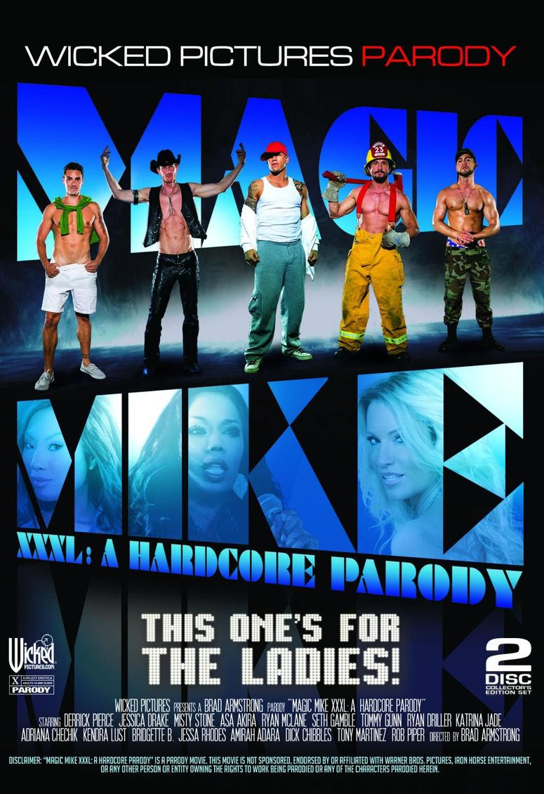 """Magic Mike XXXL: A Hardcore Parody"" Arrives in Stores"