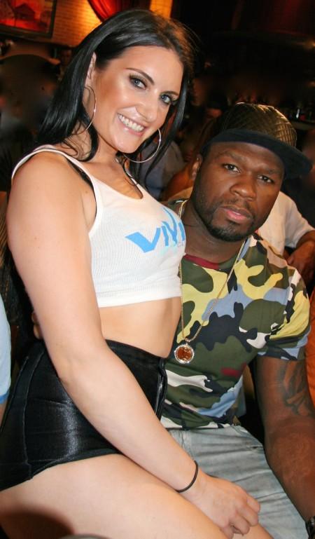 50 Cent--Vivid Cabaret NY girl AVA