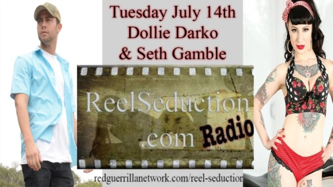 Chris King's Reel Seduction To Feature Dollie Darko As Co-Host Tonight
