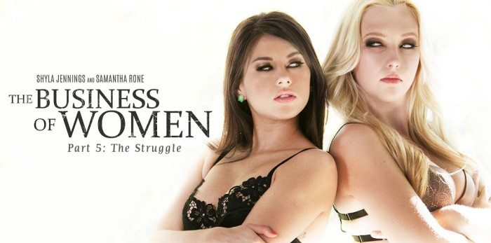 Girlsway Premieres 'The Business of Women Part Five: The Struggle'