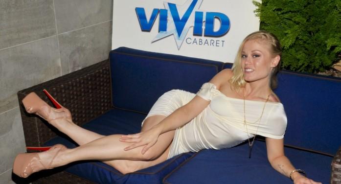 Porn Star Ash Hollywood  at Vivid Cabaret NY (photos)