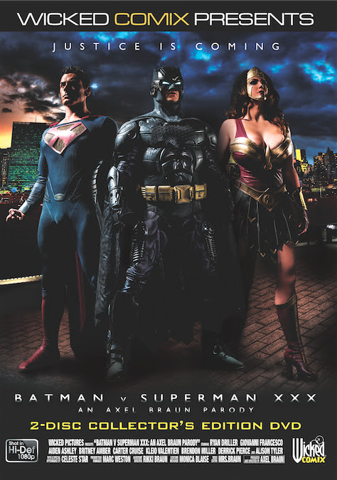'Batman v Superman XXX: An Axel Braun Parody' Trailer Tops 1 Million Views on YouTube