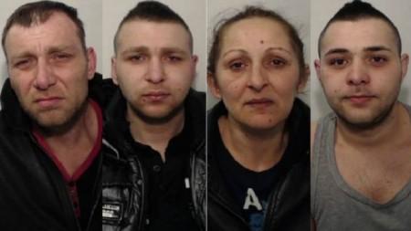 (L-r) Ferenc Dardai Sr, Ferenc Dardai Jr, Melania Kiraly and Daniel Dardai all admitted sex trafficking