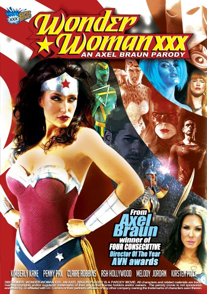Vivid's 'Wonder Woman XXX' Parody Released on Vivid.com