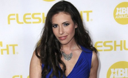 CENTURY CITY, CA - JANUARY 24:  Adult film actress Casey Calvert arrives for the 2014 XBIZ Awards held at The Hyatt Regency Century Plaza Hotel on January 24, 2014 in Century City, California.  (Photo by Albert L. Ortega/Getty Images)