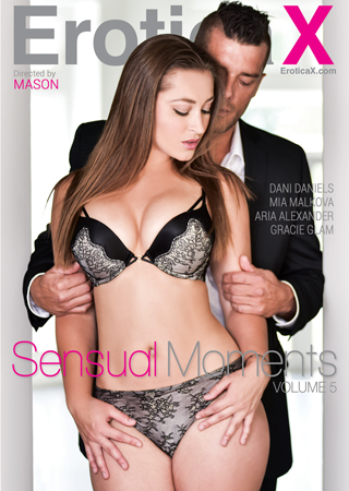 Dani Daniels Stops Heart On The Cover Of Erotica X's 'Sensual Moments Volume 5'