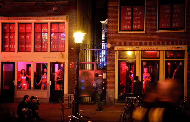 Amsterdam's plan to 'save' prostitutes is a billion euro gentrification project