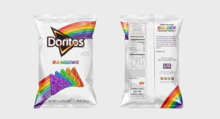 "A Christian lobbying group with has claimed that Doritos are ""Christian bashers"" who are are ""promoting homosexuality"" – because they released a special rainbow edition."