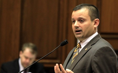 Rep. Jud McMillin, a rising star in Indiana's Republican Party, abruptly resigned Tuesday