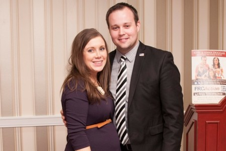 Josh Duggar Cheated, Had Rough Sex With Another Porn Star - Anna and Josh Duggar. (Photo Credit: Getty Images)