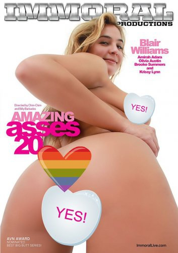 Pure Play Media, Immoral Productions Release 'Amazing Asses 20'