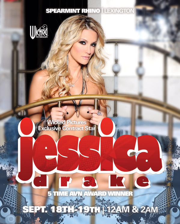 jessica drake to Feature Dance at Spearmint Rhino Lexington