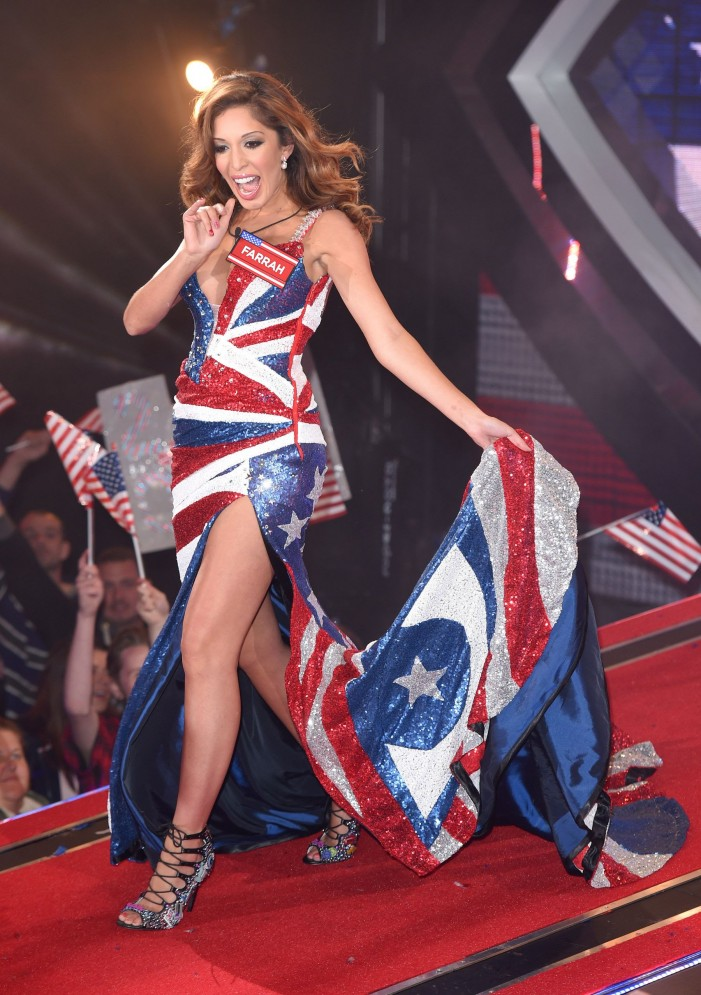 Topco Sales Celebrity Star Farrah Abraham Takes On England