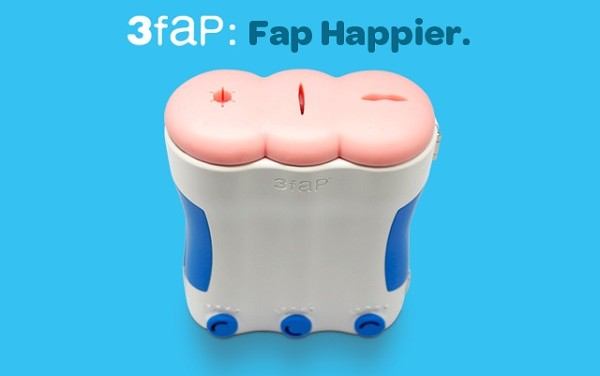 3Fap, An Unusual Male Pleasure Device With 3 Orifices Now In Crowdfunding On Indiegogo