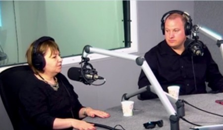 Gail Dines and Donny Pauling in 2014.