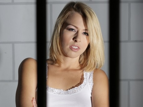 Zoey Monroe Graces The Cover Of Dana Vespoli's 'Prison Lesbians vol. 3'